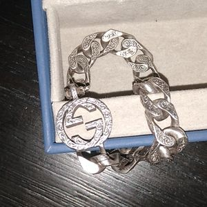 Brand New! Gucci G Curb Chain Bracelet